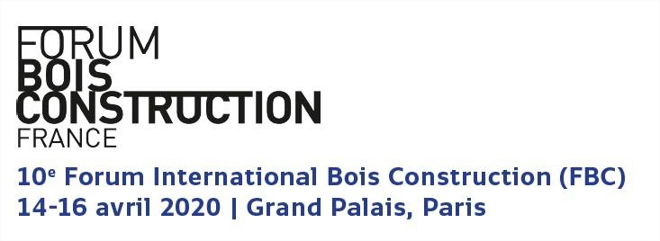 Forum Bois Construction – Paris Avril 2020