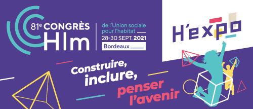 Promotelec présent au salon H'EXPO 2021 lors du 81e Congrès Hlm à Bordeaux-Lac