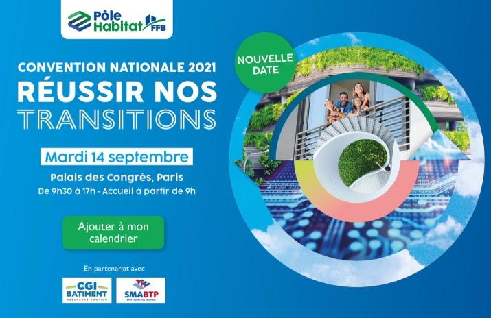 Convention Nationale Pôle Habitat FFB 2021