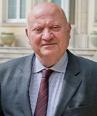 André Santini, maire d'Issy-les-Moulineaux